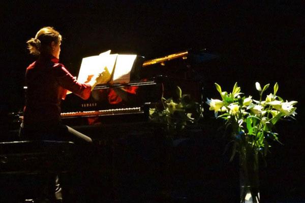 anna crexells en concert